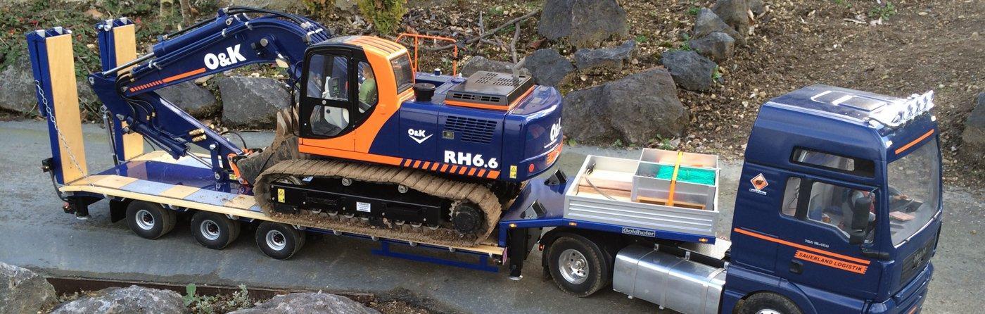 Kettenbagger O&K RH6.6